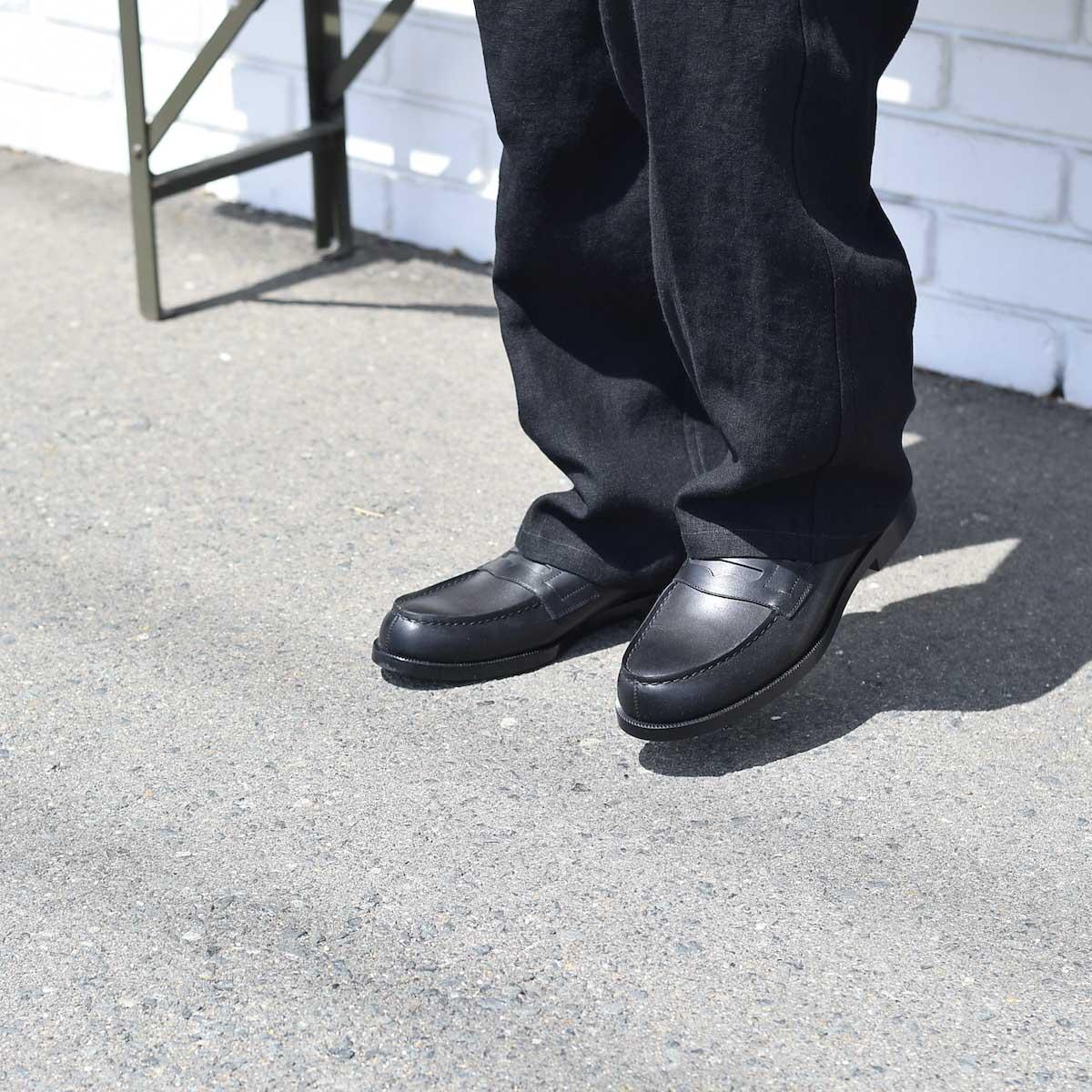 FOOTSTOCK ORIGINALS / LOAFER (Black)着用イメージ
