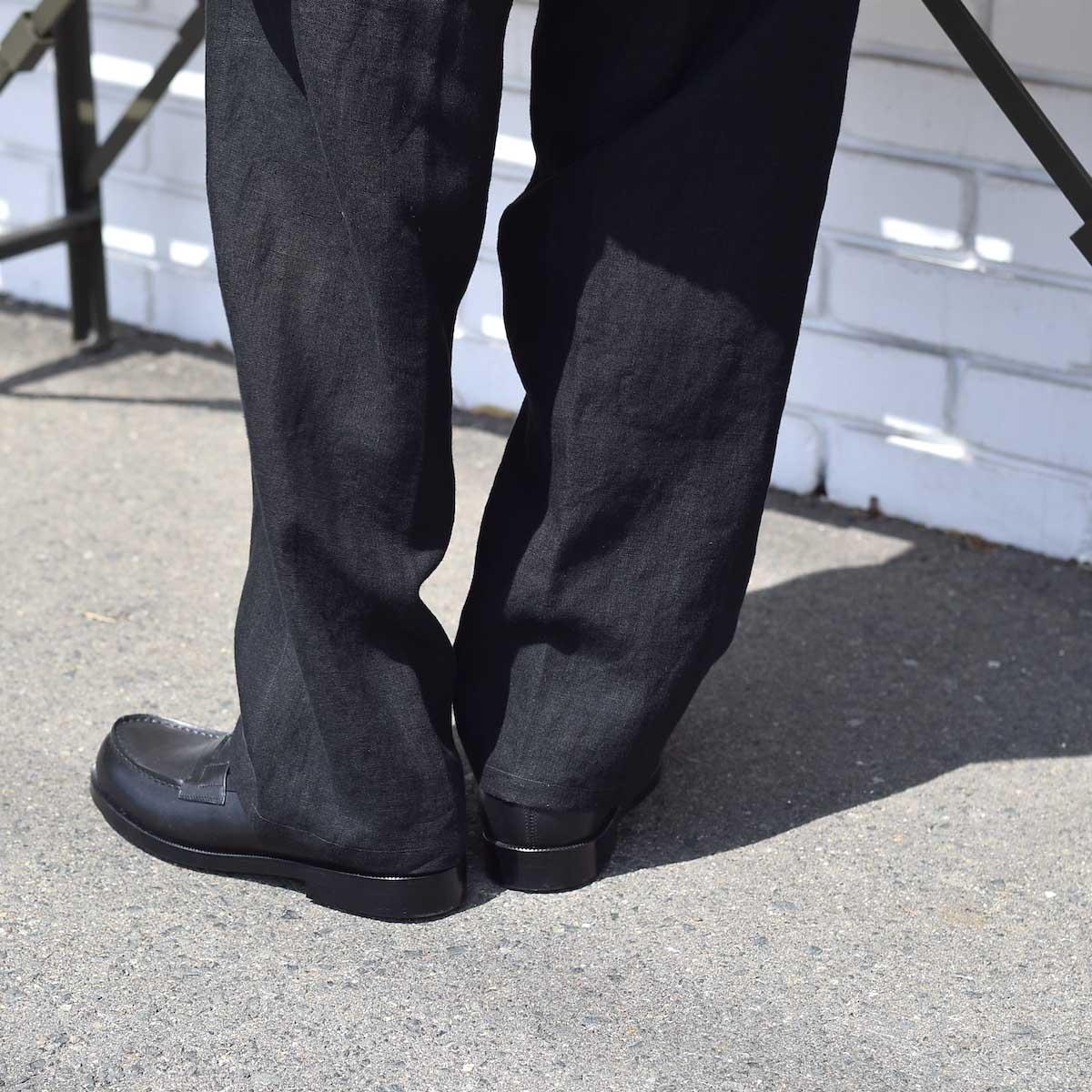 FOOTSTOCK ORIGINALS / LOAFER (Black)着用イメージ2