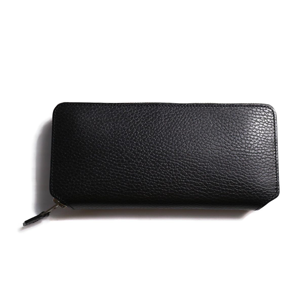 foot the coacher LONG ZIP WALLET-BLACK×WHITE(FTA1712007)