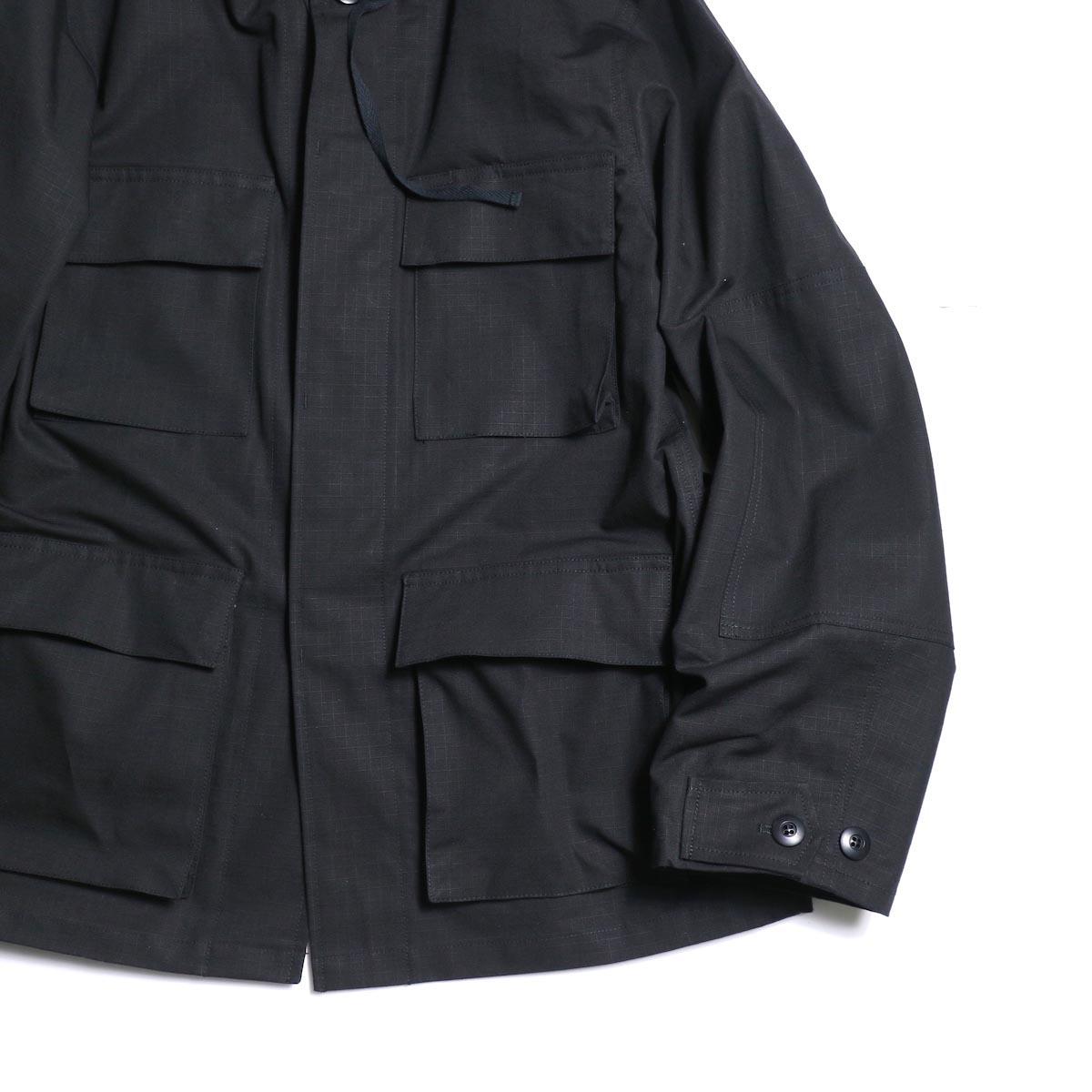 FUTURE PRIMITIVE / FP BDU HOODIE JKT (Black)ポケット