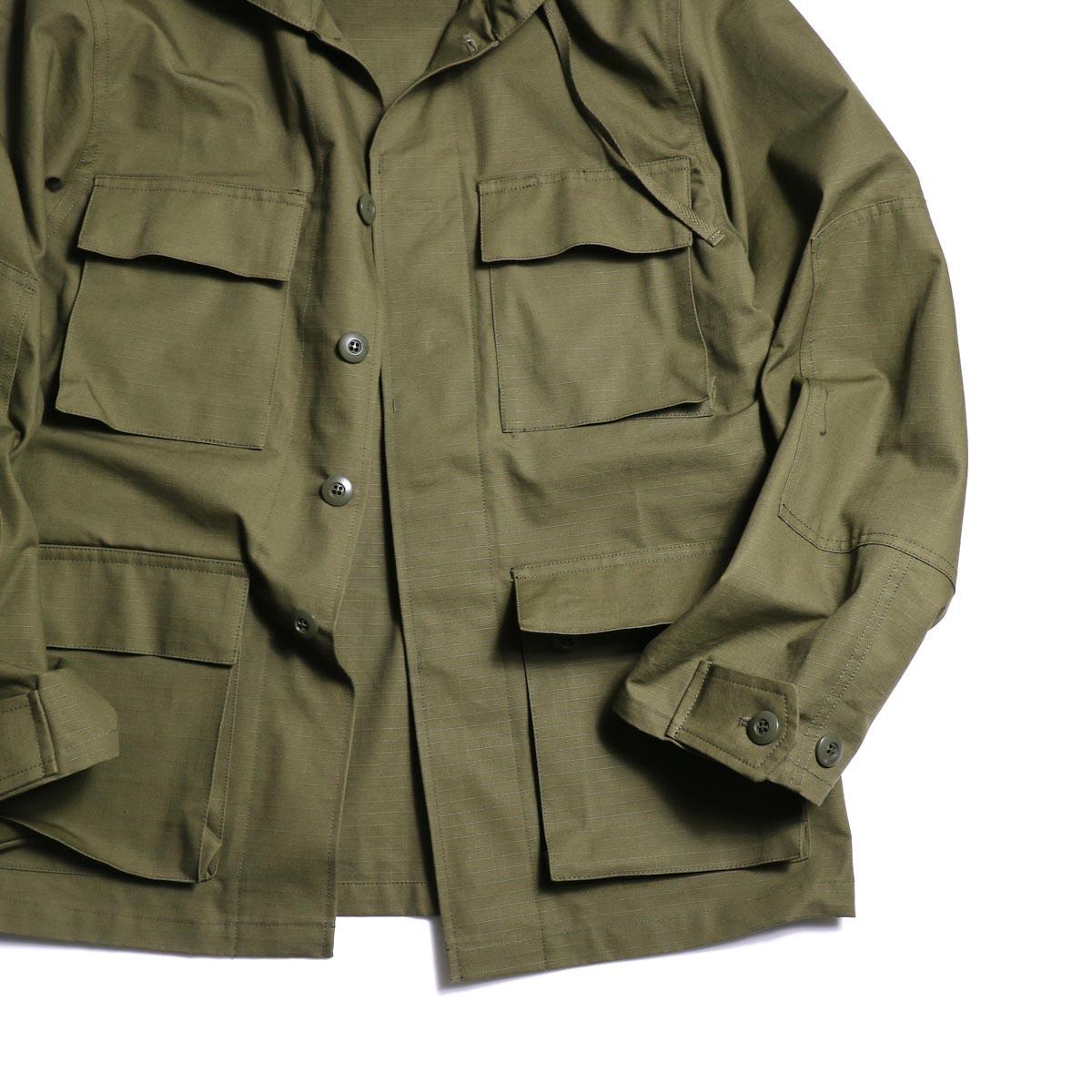 FUTURE PRIMITIVE / FP BDU HOODIE JKT (Olive)ポケット