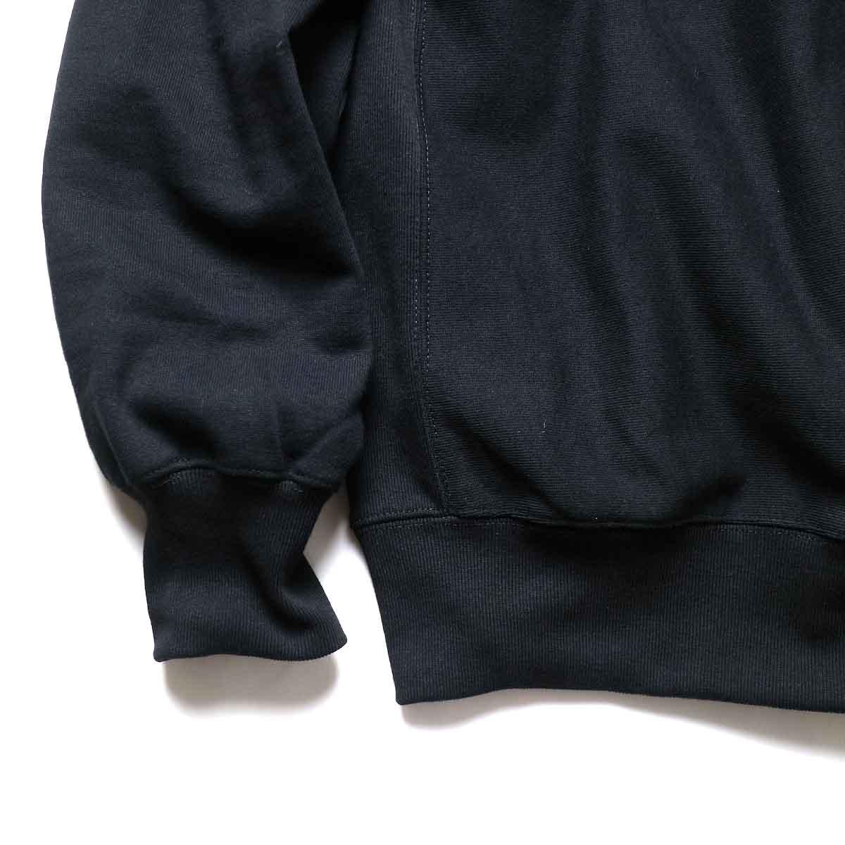 FUTURE PRIMITIVE / FP CC CREW (Black)袖、裾