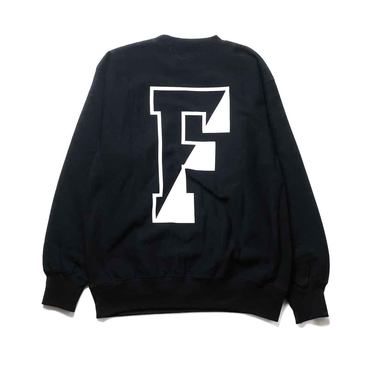 FUTURE PRIMITIVE / FP CC CREW (Black)背面