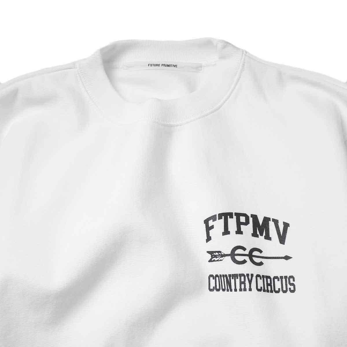 FUTURE PRIMITIVE / FP CC CREW (White)クルーネック