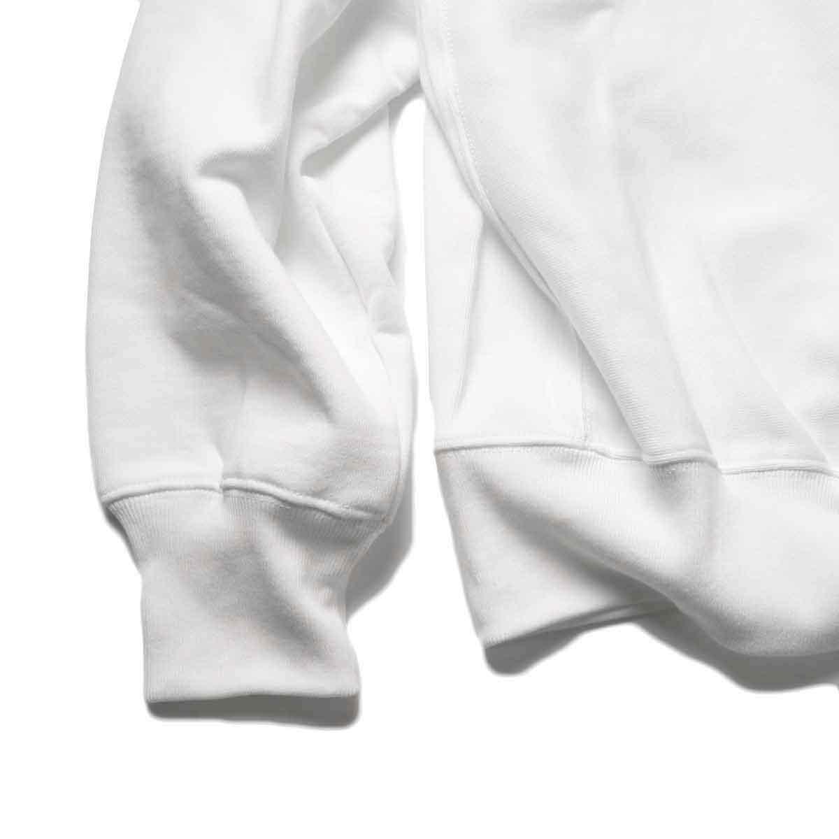 FUTURE PRIMITIVE / FP CC CREW (White)袖、裾
