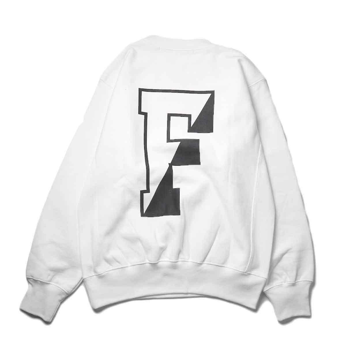 FUTURE PRIMITIVE / FP CC CREW (White)背面