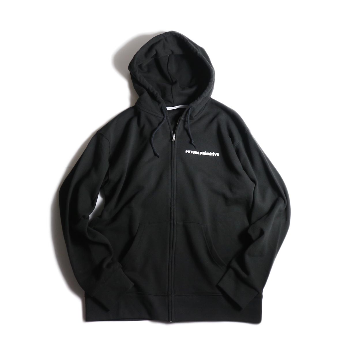 FUTURE PRIMITIVE / FP CURIOUS ZIP HOODIE (Black)