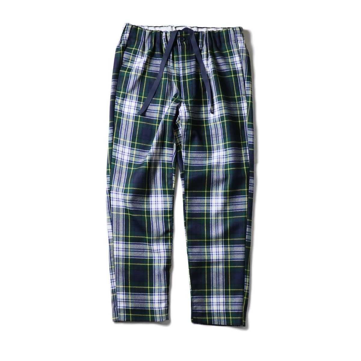 """FUTURE PRIMITIVE / FP EASY PANTS II """"CHECKERS"""" (Green)正面"""
