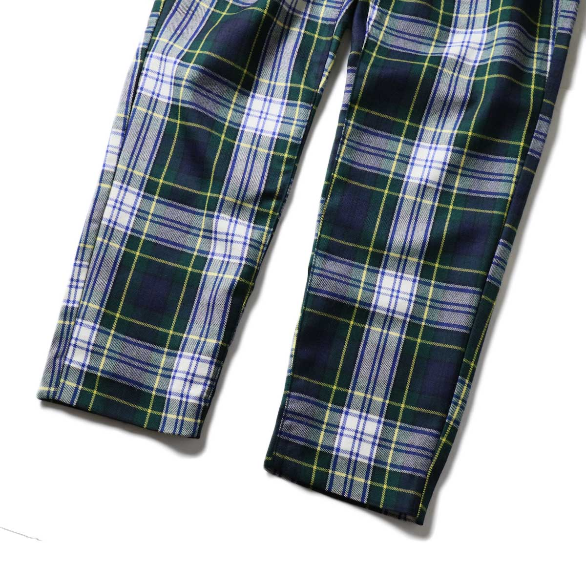 "FUTURE PRIMITIVE / FP EASY PANTS II ""CHECKERS"" (Green)裾"
