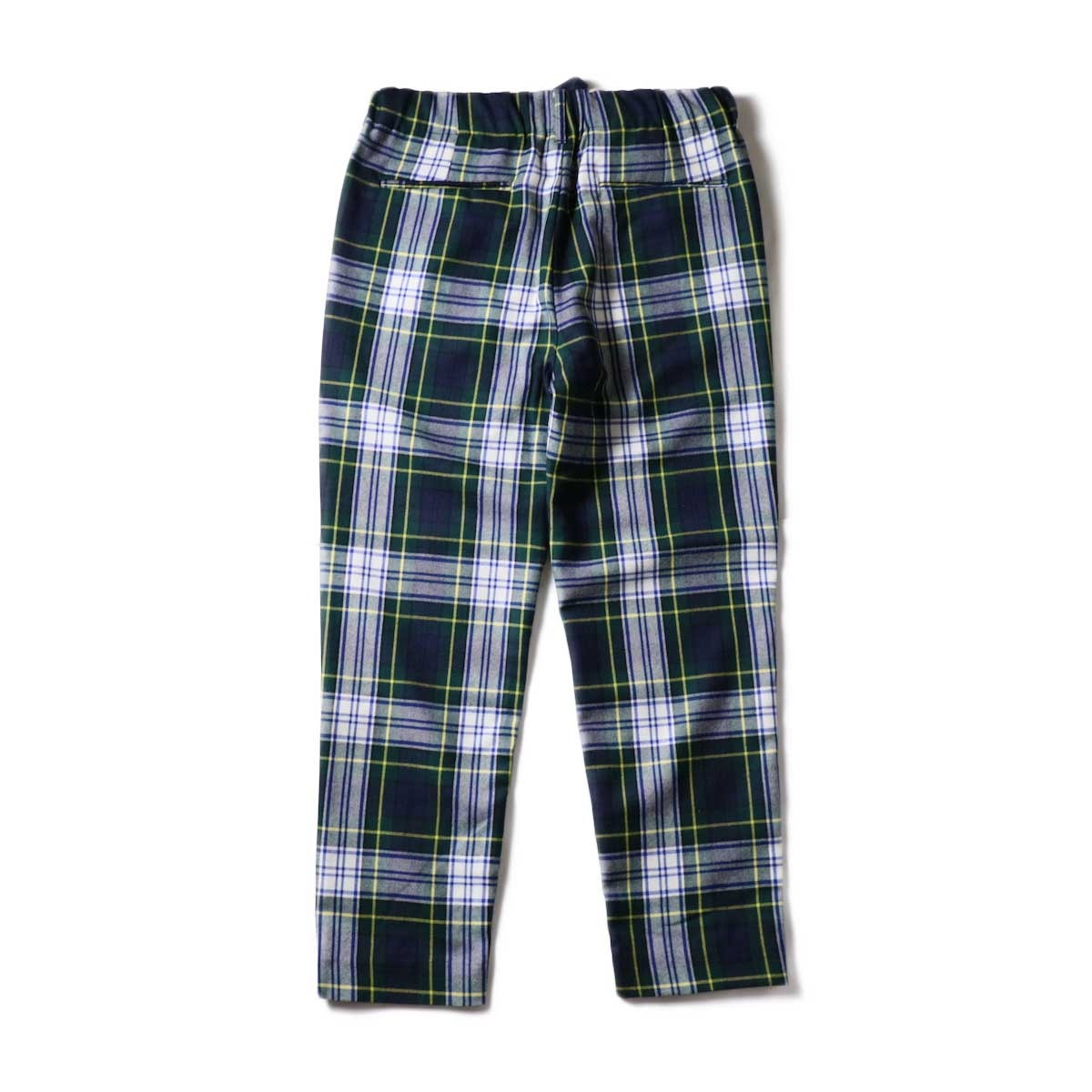 """FUTURE PRIMITIVE / FP EASY PANTS II """"CHECKERS"""" (Green)背面"""