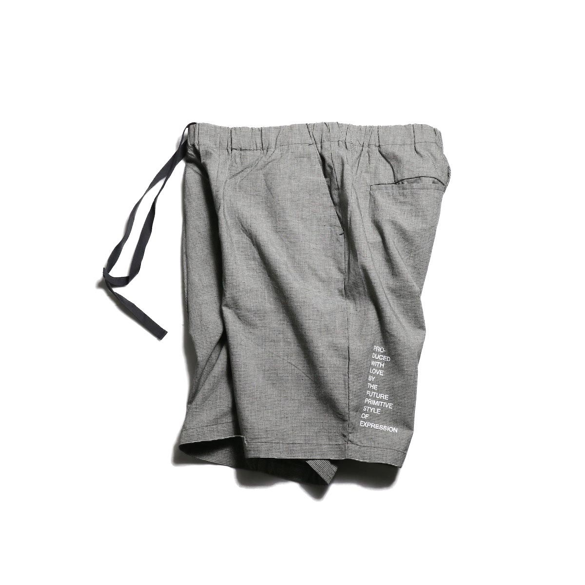 FUTURE PRIMITIVE / FP EASY SHORTS -HOUNDSTOOTH