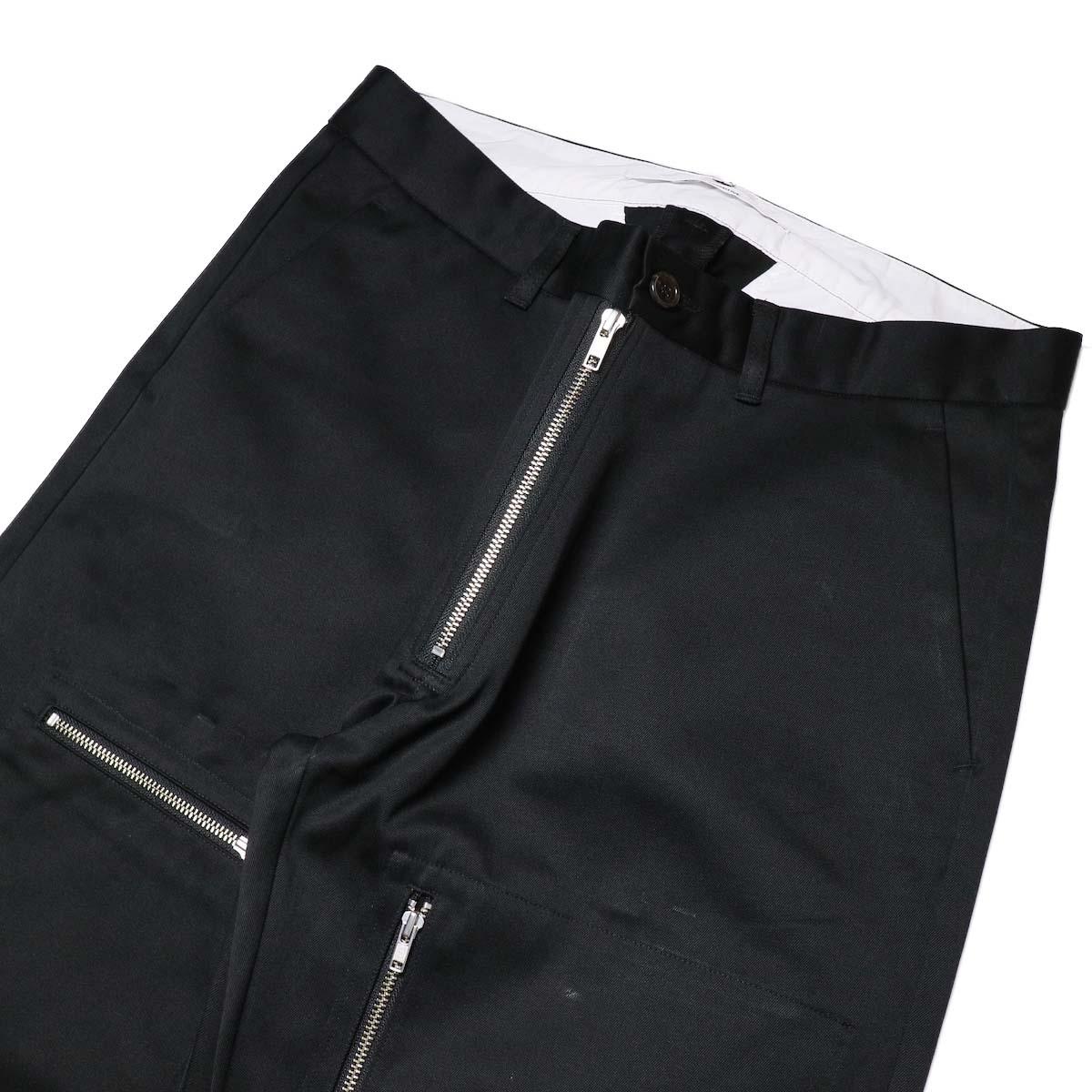 FUTURE PRIMITIVE / FP FZ FLIGHT CHINO PANTS (Black)ウエスト