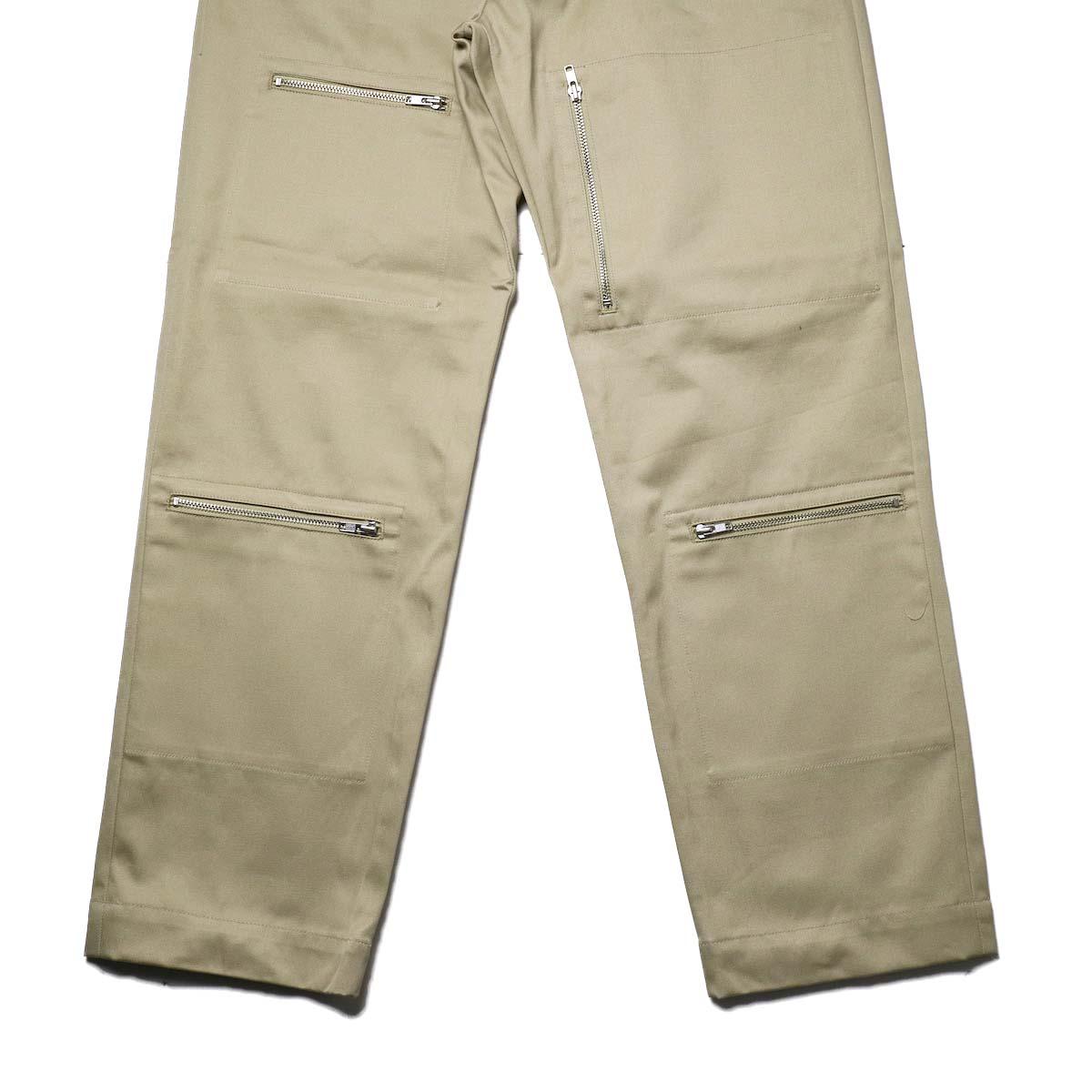 FUTURE PRIMITIVE / FP FZ FLIGHT CHINO PANTS (Beige)裾