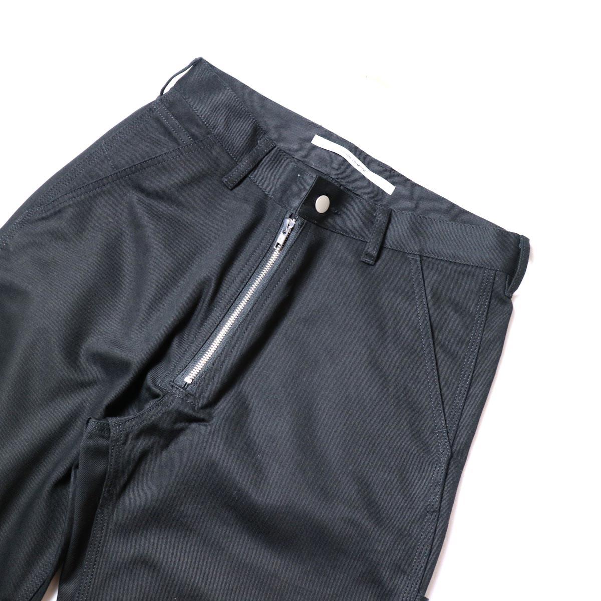 FUTURE PRIMITIVE / FP FZ PAINTER PANTS (Black)ZIP