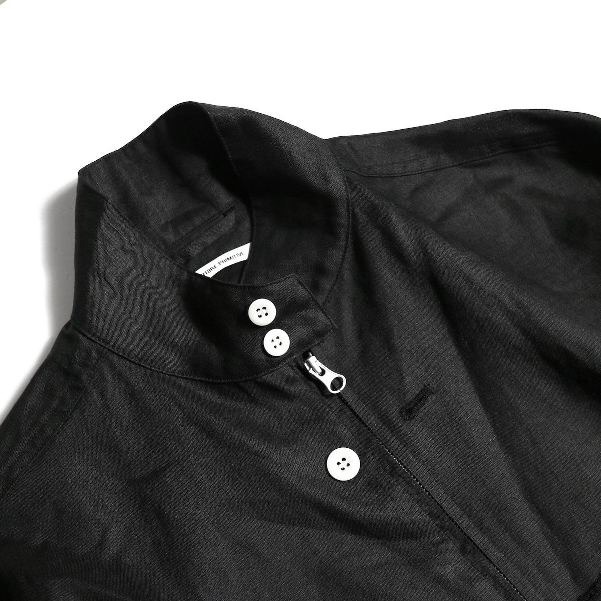"""FUTURE PRIMITIVE / FP HARRINGTON JKT """"LINEN"""" (Black)襟"""