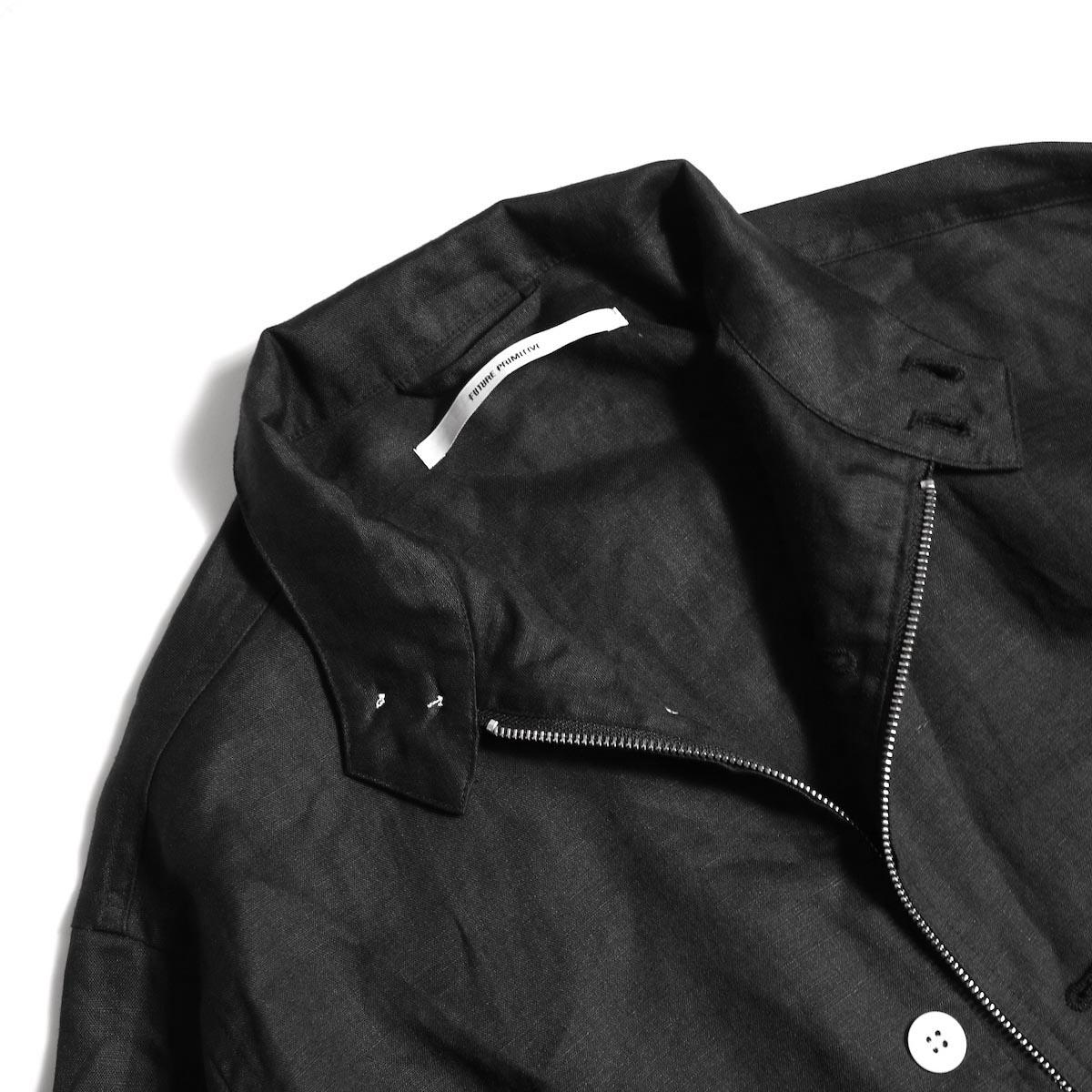 """FUTURE PRIMITIVE / FP HARRINGTON JKT """"LINEN"""" (Black)襟②"""