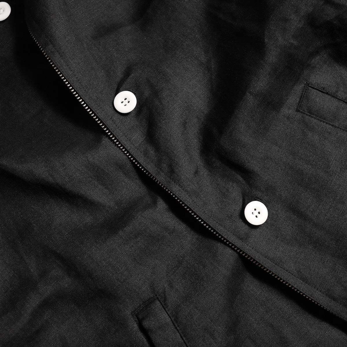 "FUTURE PRIMITIVE / FP HARRINGTON JKT ""LINEN"" (Black)ボタン"