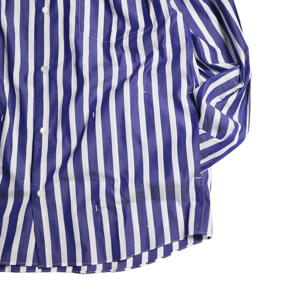 FUTURE PRIMITIVE / FP LOUNGE SHIRT (Candy Stripe)ポケット