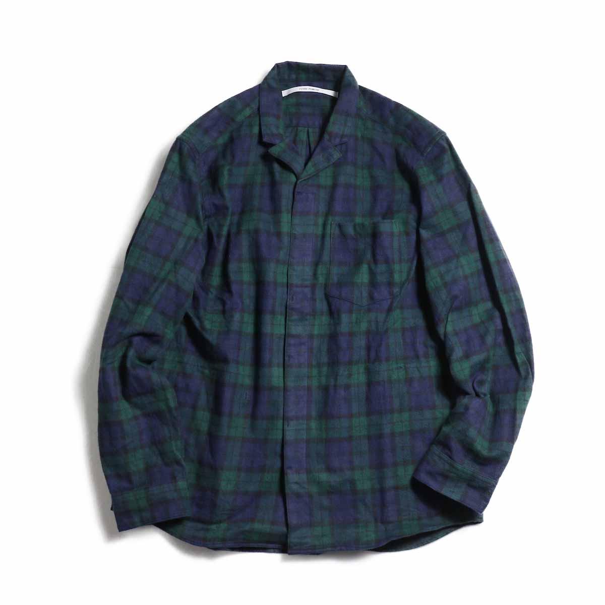 FUTURE PRIMITIVE / FP Notched Shirt(Tartan) -Black