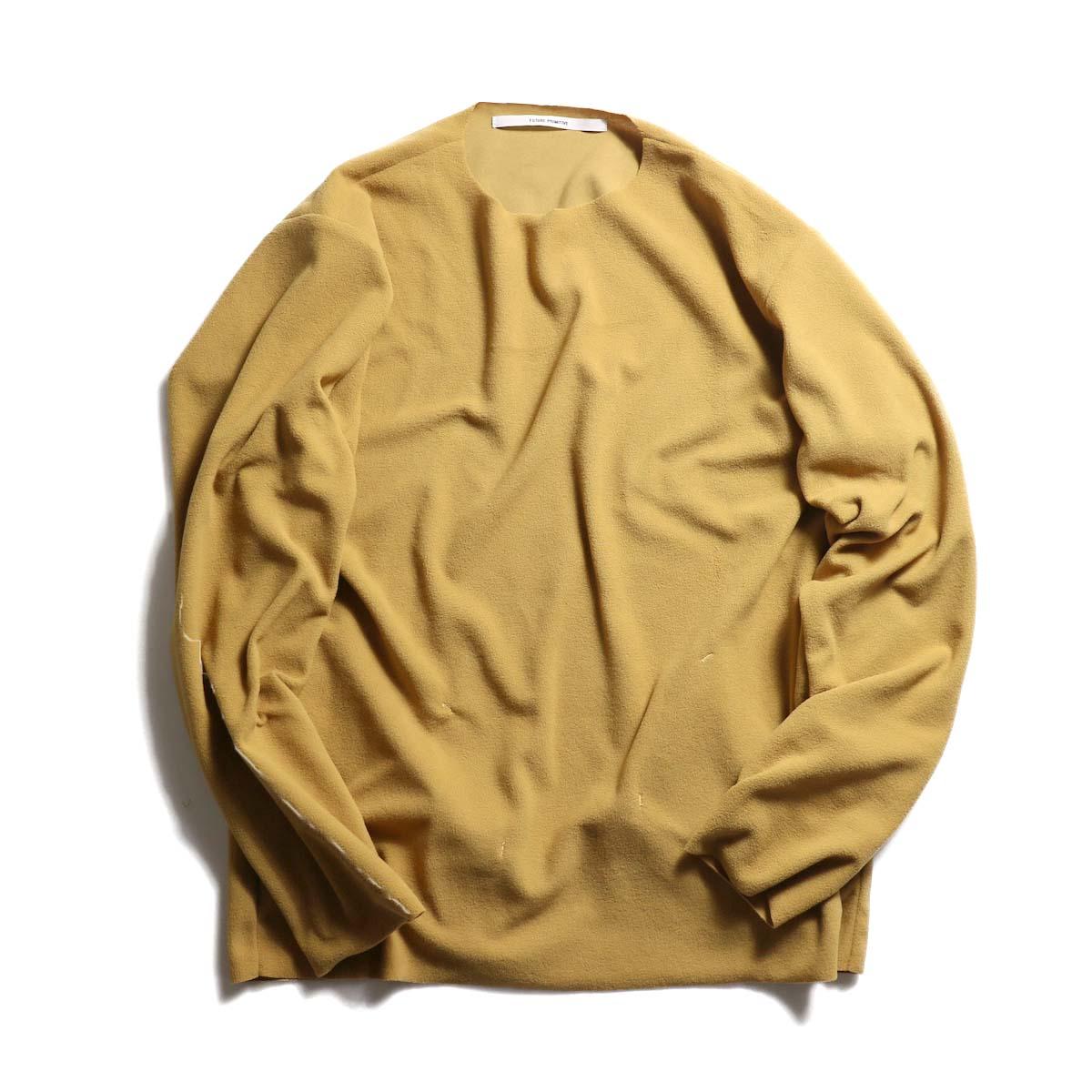 """FUTURE PRIMITIVE / Pullover Fleece """"Light"""" -BEIGE"""