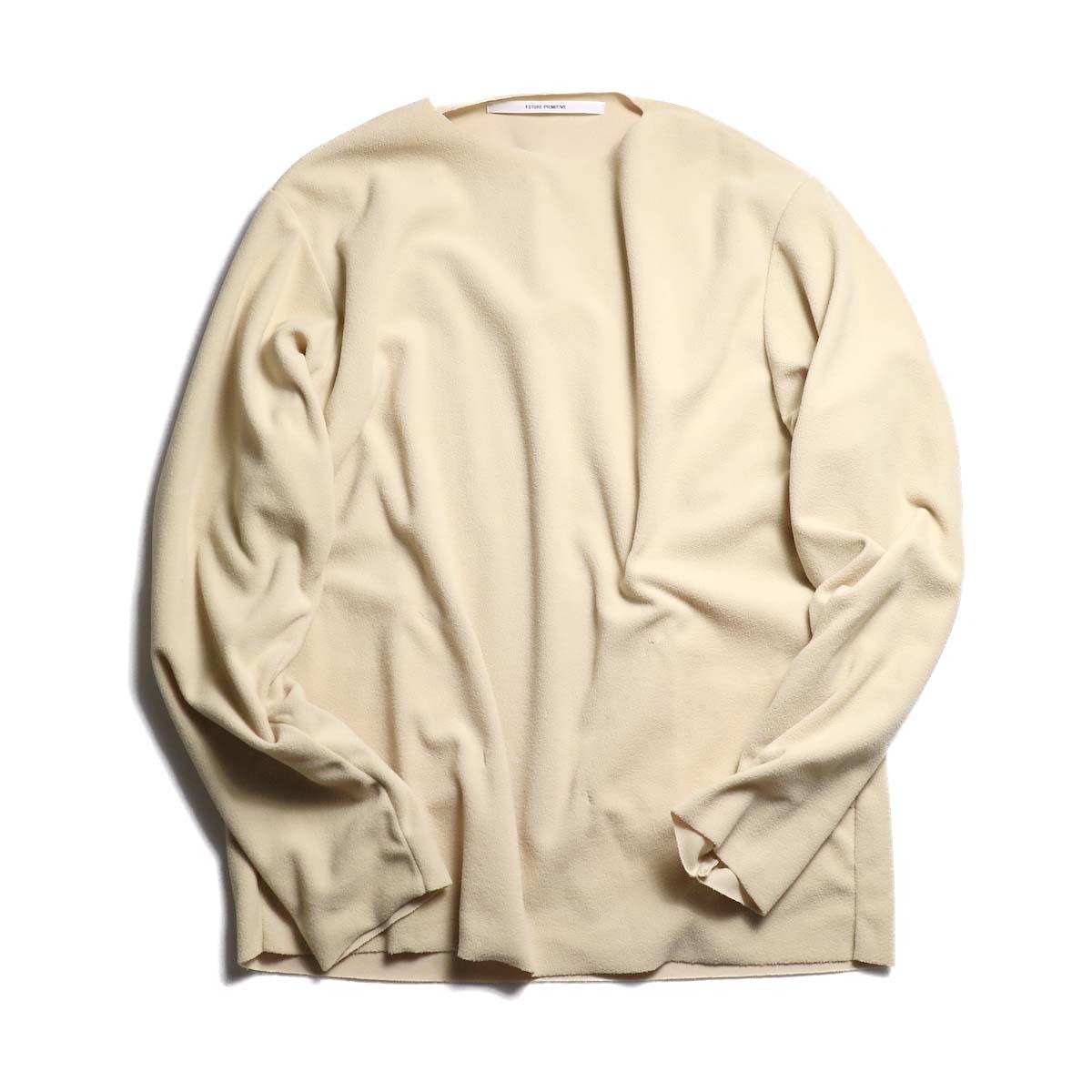 """FUTURE PRIMITIVE / Pullover Fleece """"Light"""" -LT.BEIGE"""