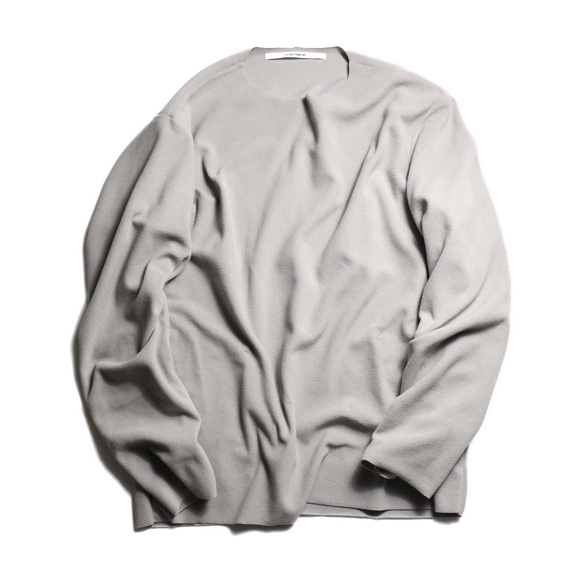 "FUTURE PRIMITIVE / Pullover Fleece ""Light"" -LT.GRAY"