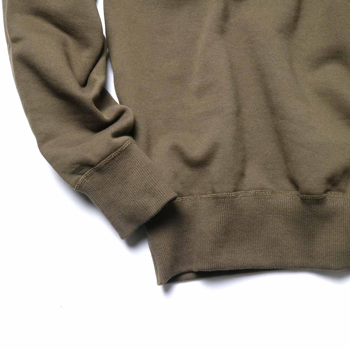 FUTURE PRIMITIVE / FP ROLL NECK SWEAT (Brown)袖、裾