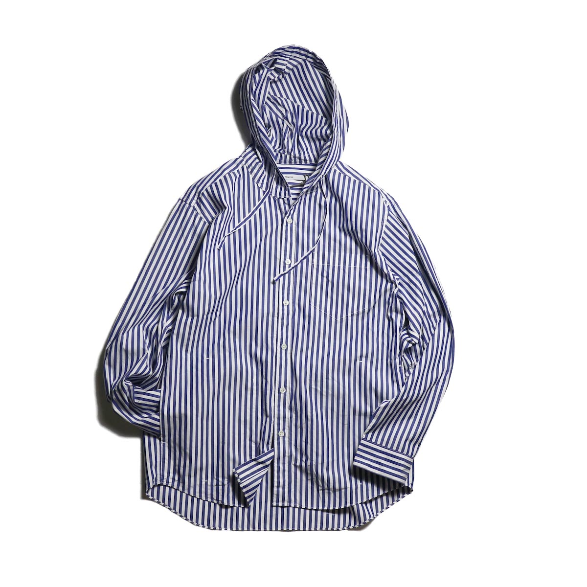 FUTURE PRIMITIVE / FP SUBTROPIC HOODIE SHIRT (Blue Stripe)