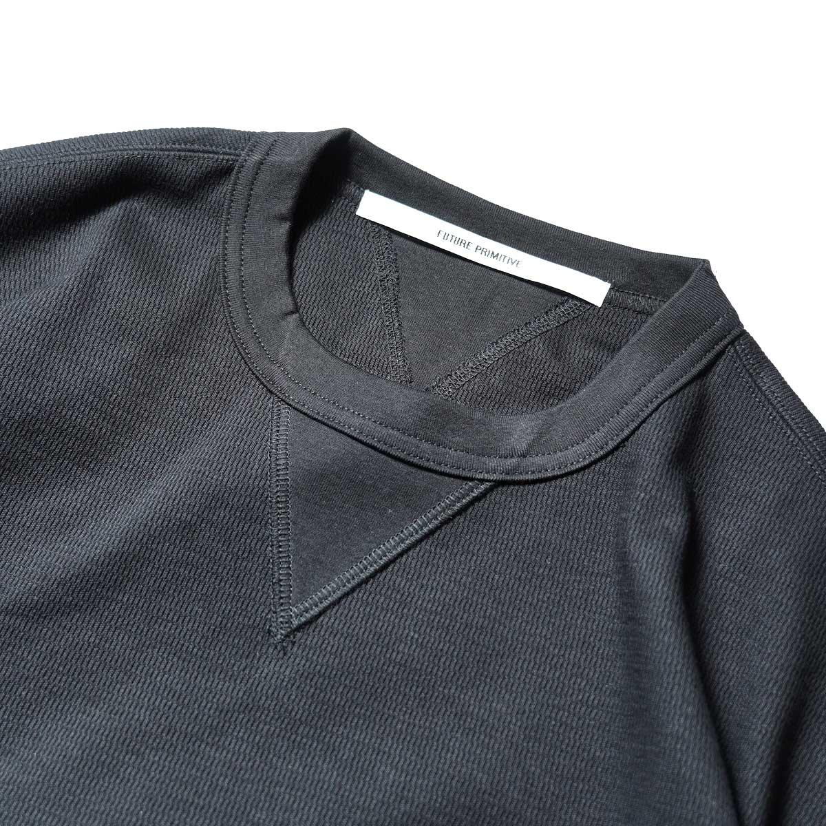 FUTURE PRIMITIVE / FP THERMAL V T-SHIRT (Black)ガセット