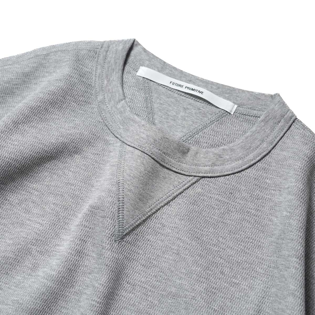 FUTURE PRIMITIVE / FP THERMAL V T-SHIRT (Gray)ガセット
