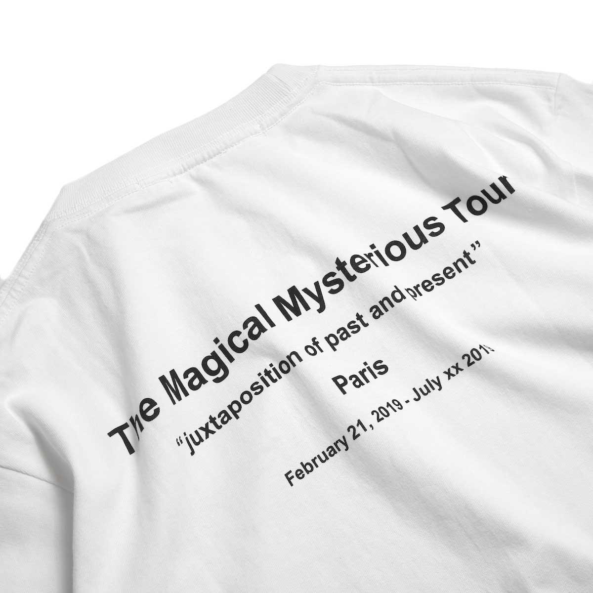 FUTURE PRIMITIVE / FP TMMT T-shirt -White バックプリント①