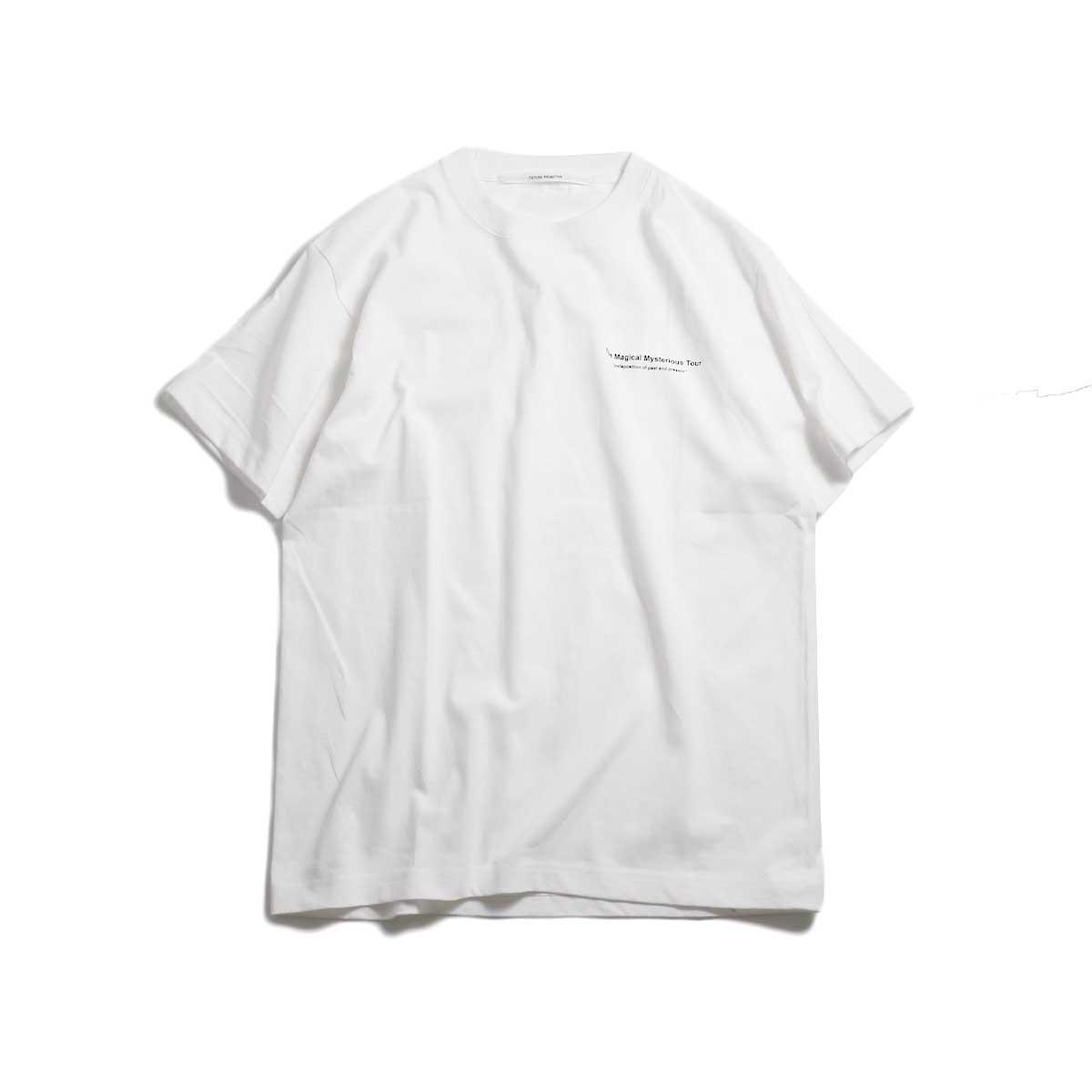 FUTURE PRIMITIVE / FP TMMT T-shirt -White 正面