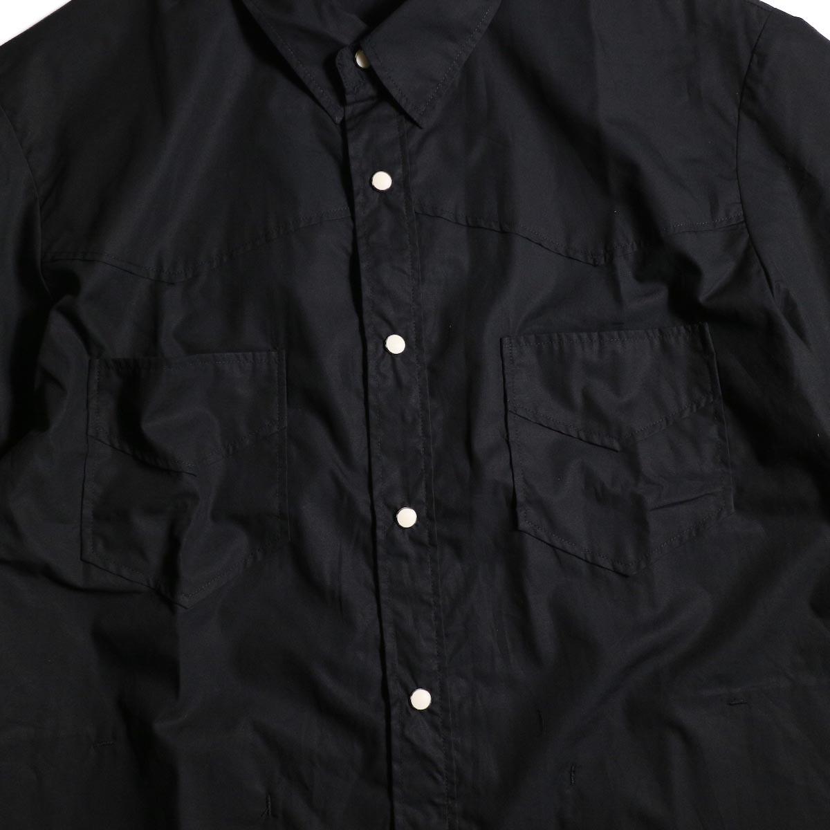 FUTURE PRIMITIVE / FP WESTERN SS SHIRT (Black)胸ポケット