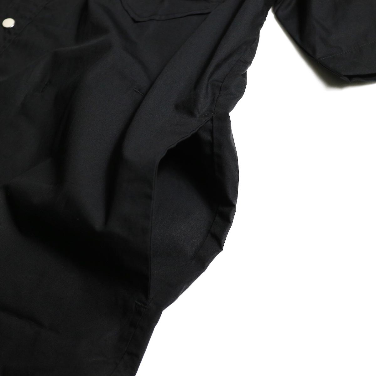 FUTURE PRIMITIVE / FP WESTERN SS SHIRT (Black)サイドポケット