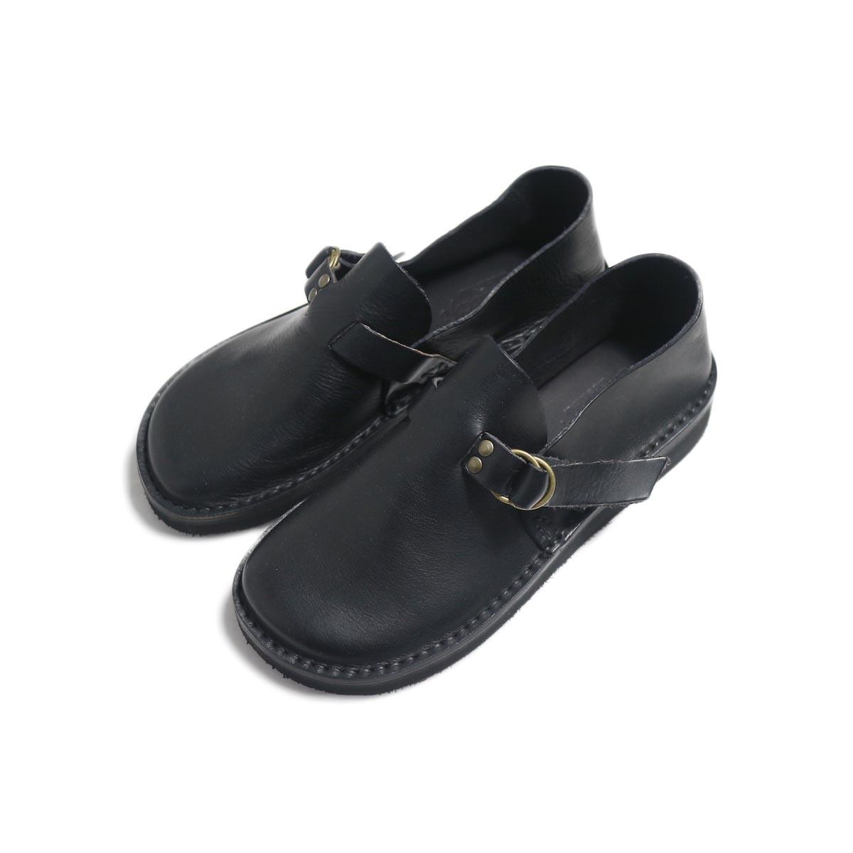 Fracap / R007 Leather Shoes -Black 全体