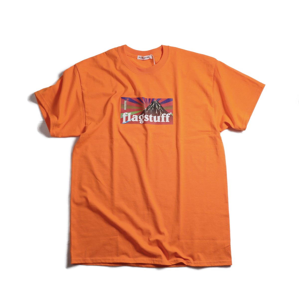 F-LAGSTUF-F / Box Logo Tee (Orange)