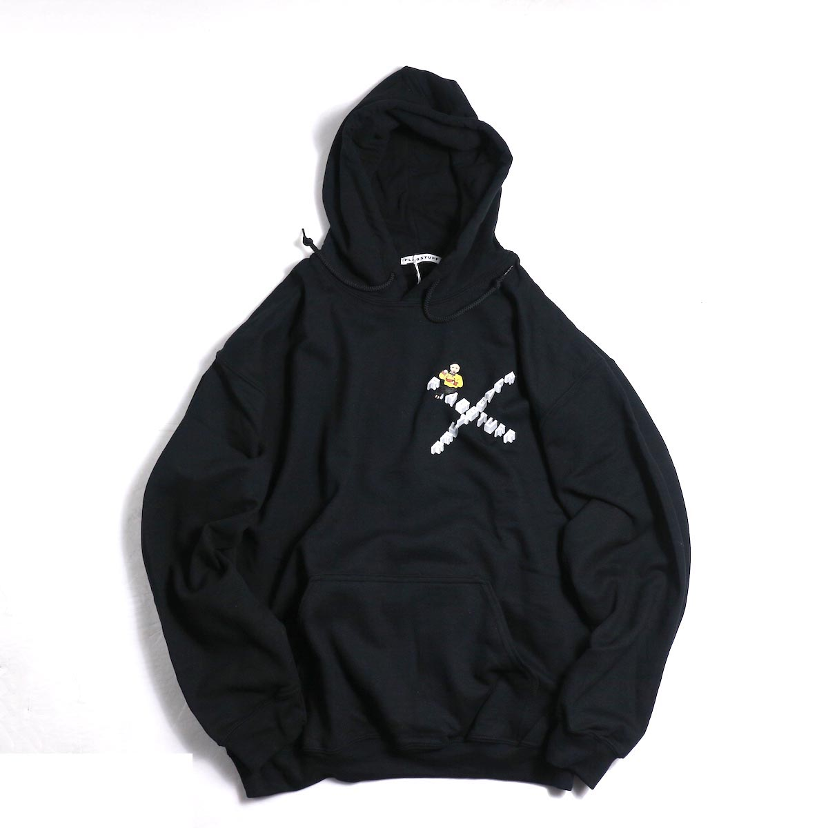 F-LAGSTUF-F × Don't Come / HOODIE (BLACK)