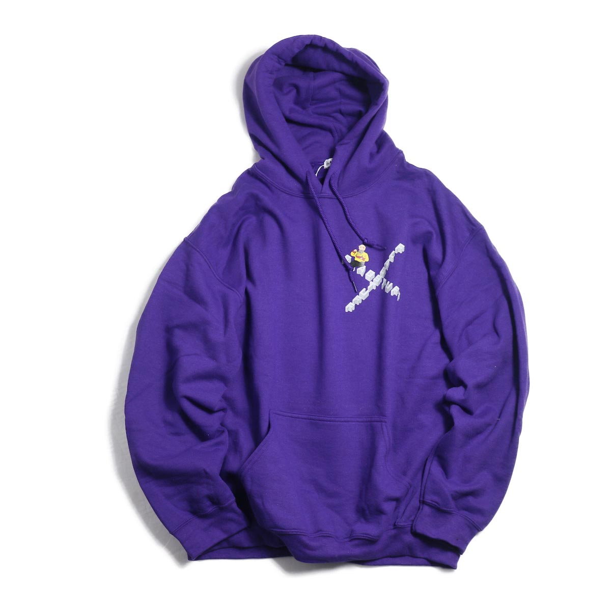 F-LAGSTUF-F × Don't Come / HOODIE (PURPLE)