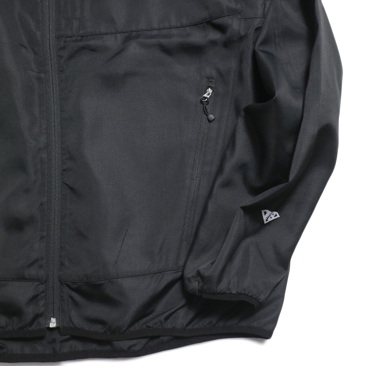 Free Speech / Light Zip Blouson -Black 袖、裾