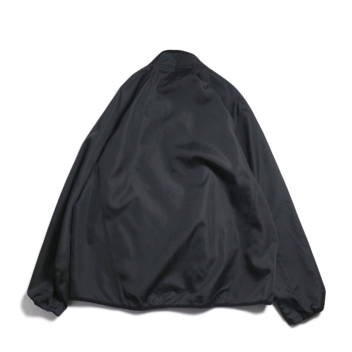 Free Speech / Half Zip Pullover Blouson -Black 背面