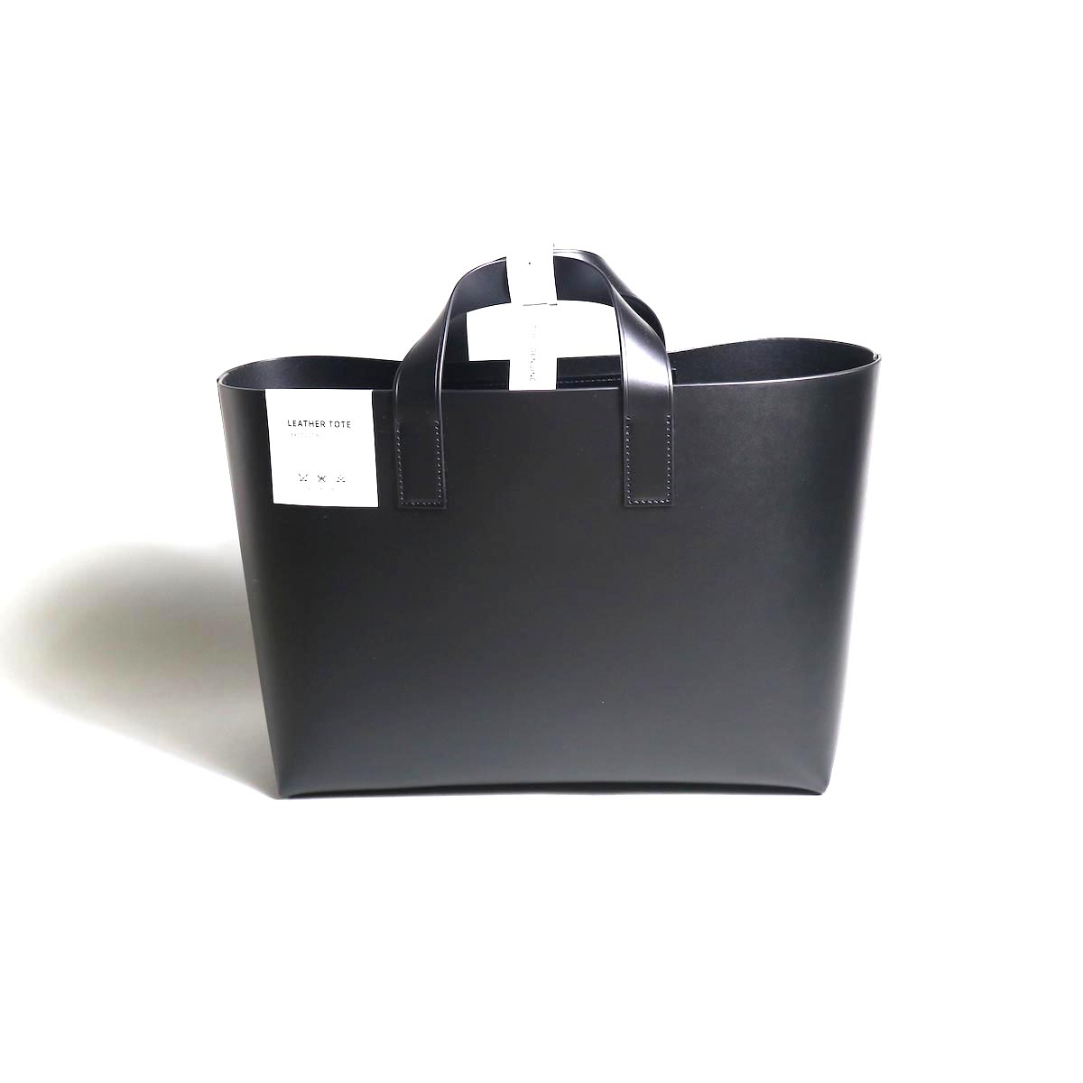 foot the coacher / Leather tote-S (BLACK)