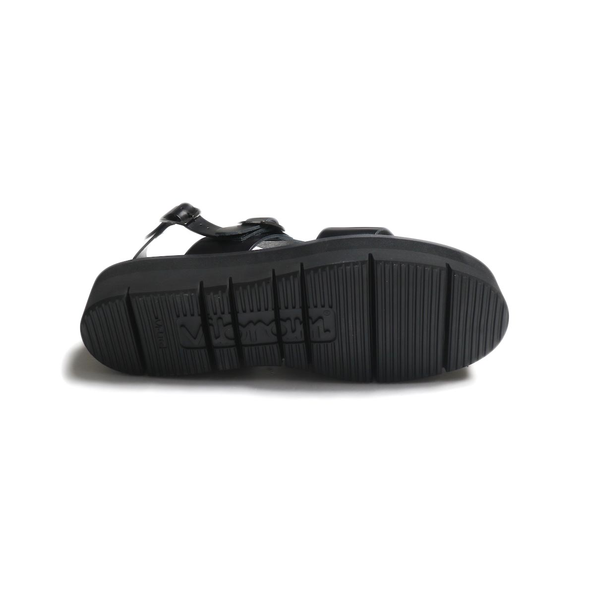 foot the coacher / SS BELT SANDALS (GLOXI CUT SOLE) -Black アウトソール