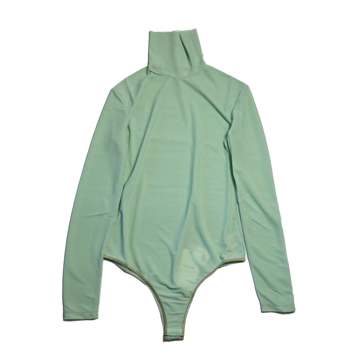FUMIKA UCHIDA / TURTLE-NECK BODY SUIT POLI -EMELARD GREEN