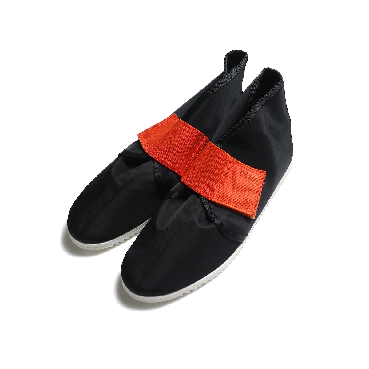 FUMIKA UCHIDA / Nylon Velcro Shoes -Black