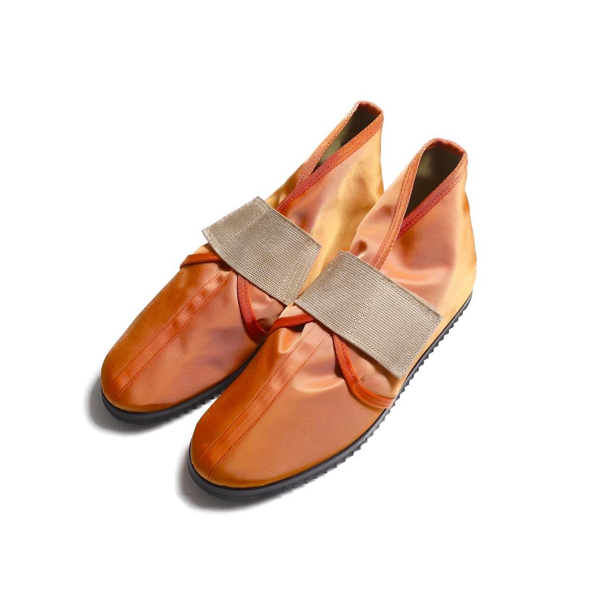 FUMIKA UCHIDA / Nylon Velcro Shoes -Orange