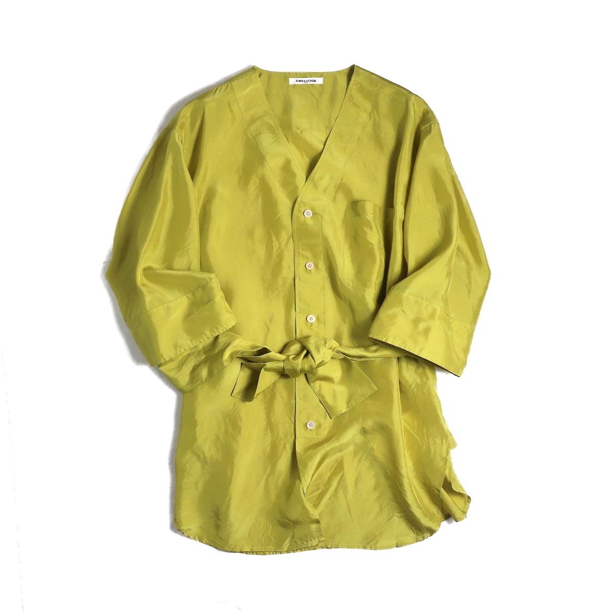 FUMIKA UCHIDA / Silk Sleep Shirt -YELGRN