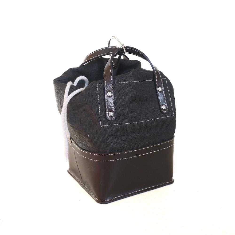 FUMIKA UCHIDA / D SNAP BAG XS -BLACK