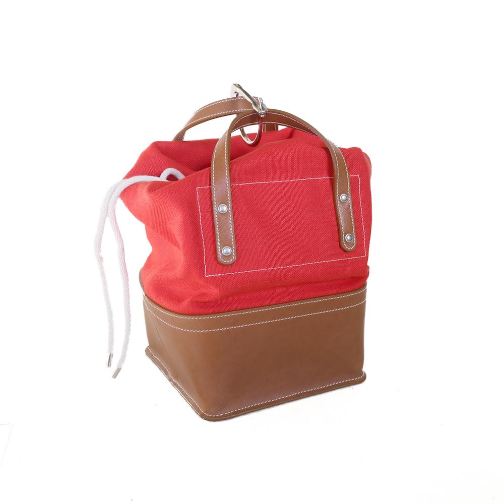 FUMIKA UCHIDA / D SNAP BAG XS -RED