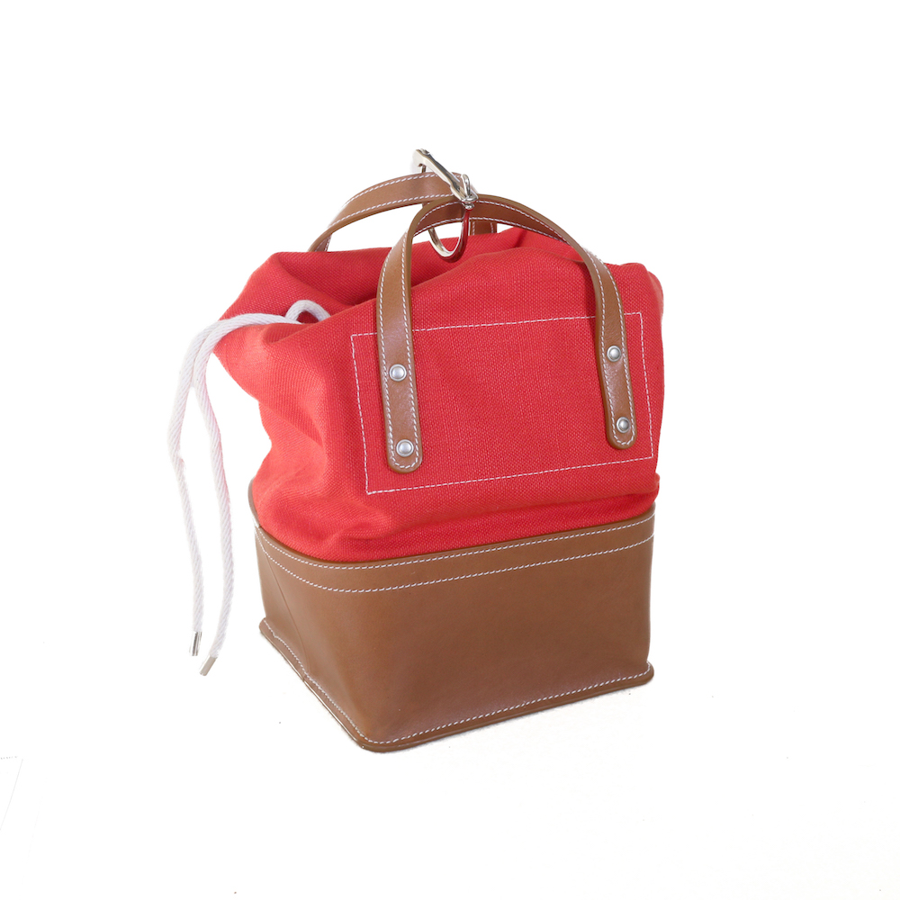FUMIKA UCHIDA / D SNAP BAG XS -RED