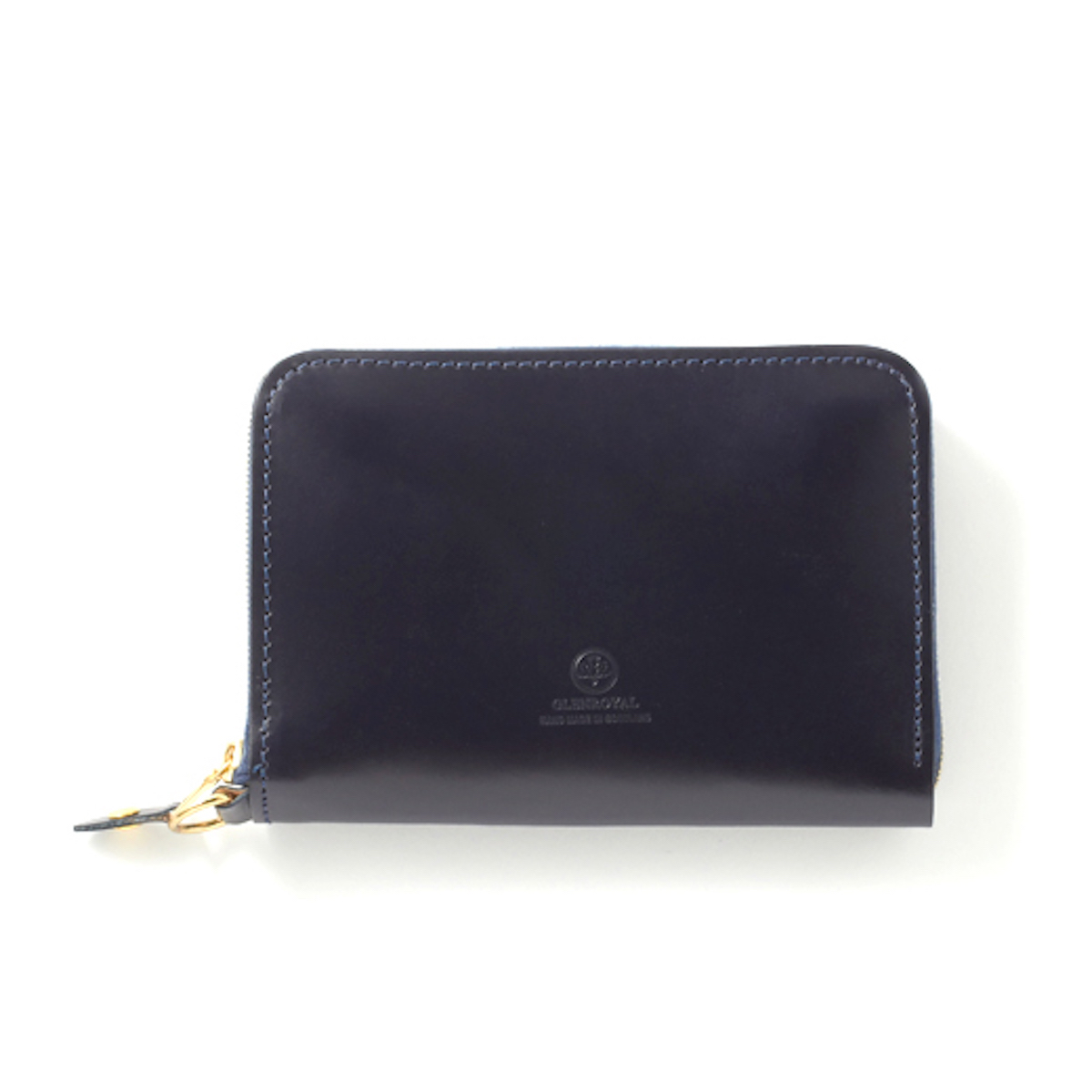 GLEN ROYAL / WALLET WITH DIVIDERS -DARK BLUE
